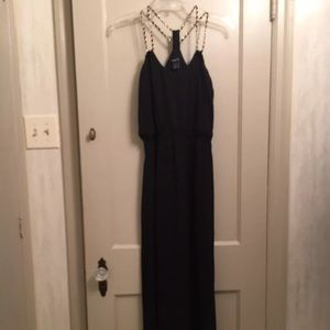 Rue21 Black Small Juniors Sleeveless Maxi Dress 🤩